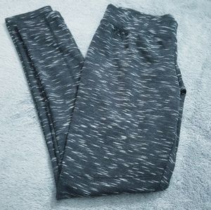 Black/White Merona Exercise leggings: Small Petite